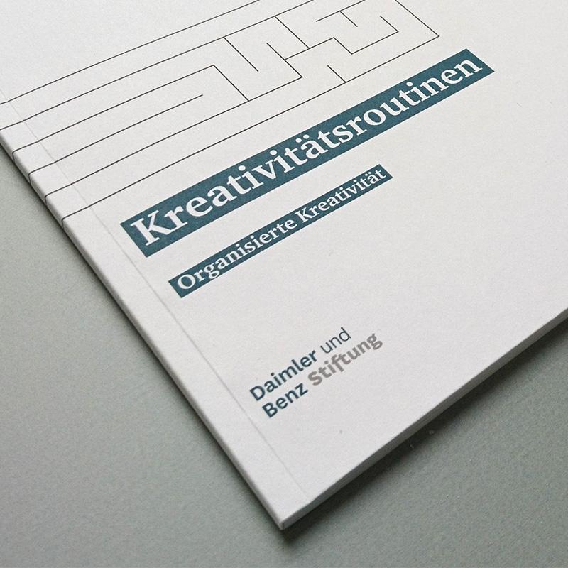Broschüre Kreativroutinen: Organisierte Kreativität